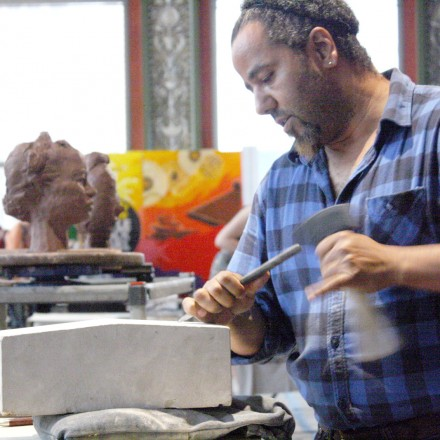 The Fire Arts Center is a nonprofit school for sculpture. (Image courtesy SIFC Chicago)