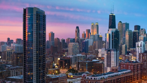 Tech startups cluster downtown in Chicago's River North neighborhood. (Image: needoptic CC by/sa)